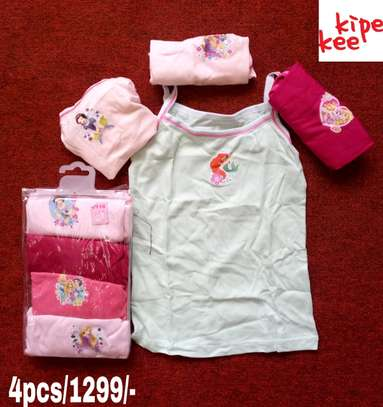 Girls Cartoon Themed Vests image 1