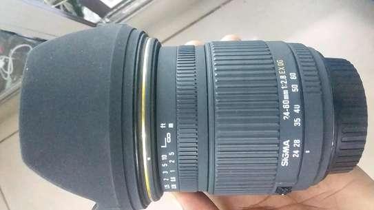 Canon ( sigma) lens 24-60mm image 1
