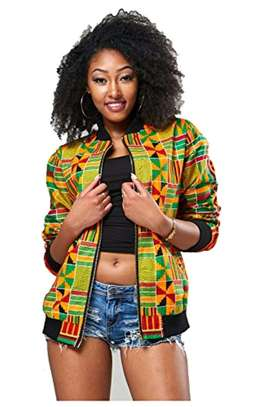 Kente Bomber Jackets