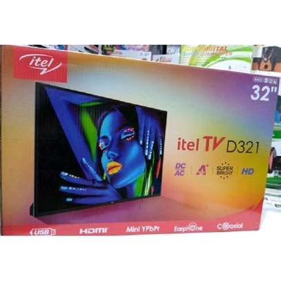 Itel D321-32,HD LED Digital TV AC/DC.used with Solar. image 1