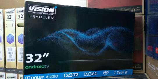 Vision Frameless Smart Android TV 32inch image 1