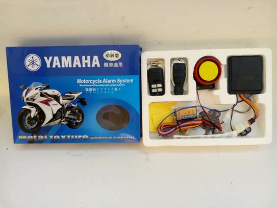 Anti-theft Security Motorcycle Alarm System Remote Control Engine Start 12V