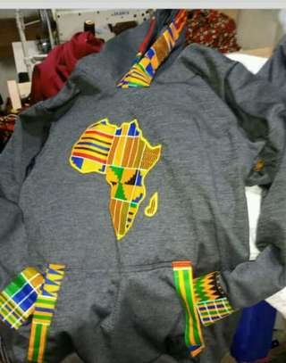 Africa designed hoods and T-shirts. image 5