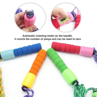 Kids Fitness Exercise Skipping Rope With Counter Jump image 3