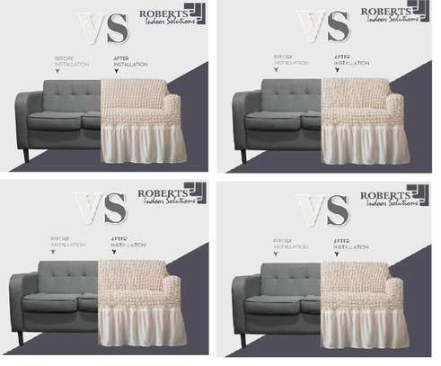 premium white seat covers 7 seater image 1