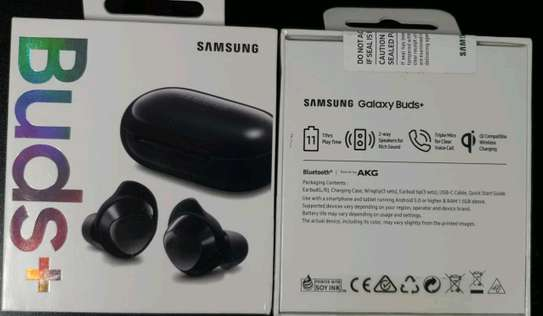 Samsung Galaxy Earbud Plus brand new and sealed in a shop.