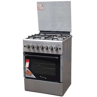 RAMTONS 4GAS+ELECTRIC OVEN 60X60 STAINLESS STEEL COOKER- RF/492 image 2