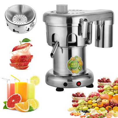Commercial Stainless Steel Automatic Centrifugal Juicer Juice Making Machine image 1