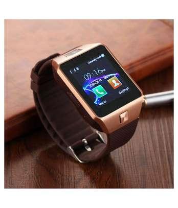 DZ09 Smart Watch - Silver/Black image 1