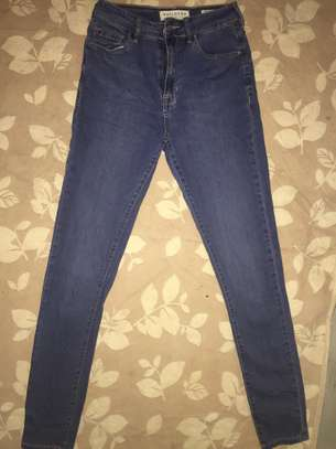 Ladies Blue Jeans image 1