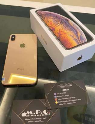 Iphone xs max *Gold* image 1