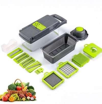 Multi functional vegetable slicer image 1