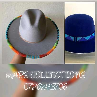 Beaded hat image 1