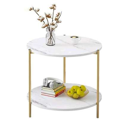 Double Marble Coffee Table image 1