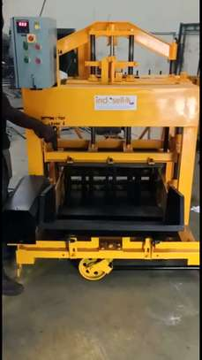 Cabro block making machine