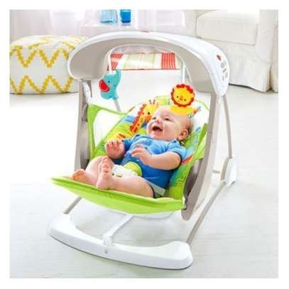 Yayaya 2 IN 1 animal swing/ rainforest rocker image 1