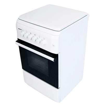 Bruhm BGC 5040NW - 4 Gas - 50cm x 55cm - Free Standing Cooker - White image 1