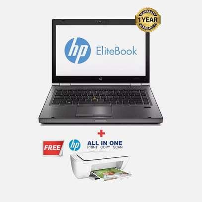 "HP EliteBook 8470p - 14"" Core i5 , 4GB, 500GB HDD, Win10Pro + Plus FREE Hp Printer image 1"