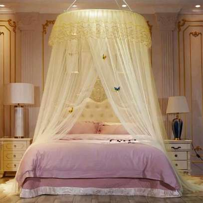 Round Mosquito Net~King Size image 1
