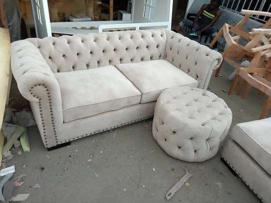 5 Seater Chesterfield Sofa Set. image 6
