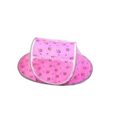 Baby Cot Mosquito Net pink image 2
