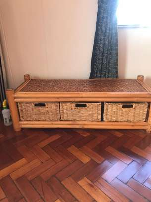 Coffee Table with drawers image 1