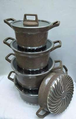 Granite coated cooking pots image 1