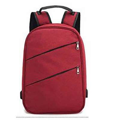 Antitheft Bag With Charging Port - Red - OneSize
