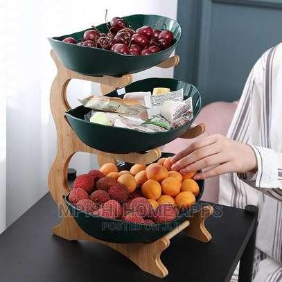 3 Tier Wooden Fruit Rack image 3