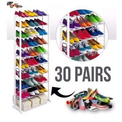 Amazing 10 Layer Shoe Rack For 30 Pairs image 1