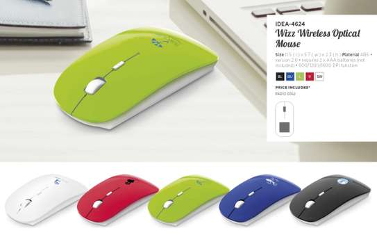 Branded Wizz Optical Mouse