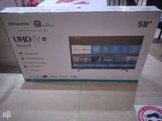 HISENSE 58 INCH SMART FRAMELESS TV image 1
