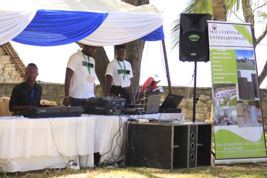 dj & sound system for hire