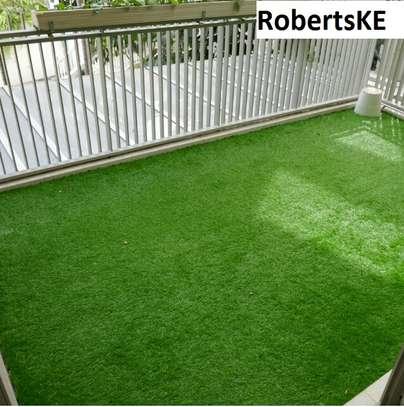 balcony decor Grass Carpet image 1