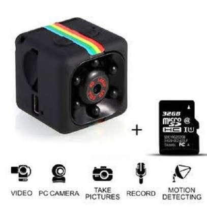 camera Mini Camera DV DVR Night Vision Monitor micro small camera Video Recorder Cop Pocket cam sq13 JUN(Blue)(Standard Cam) image 1
