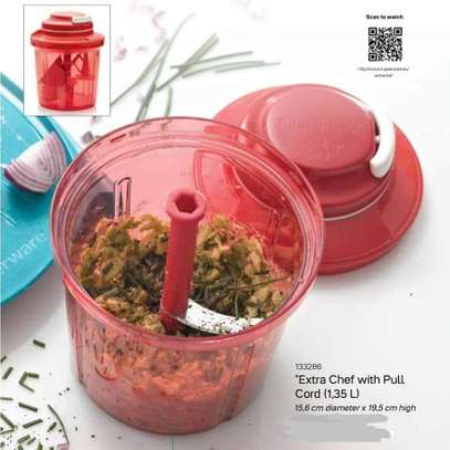 Tupperware Extra Chef with Pull Cord (1.35 L) image 1