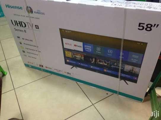 58 inch hisense 55A7100 UHD frameless 4k tv image 1