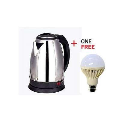 Scarlet Electric Kettle + FREE 5wt Led Bulb image 1