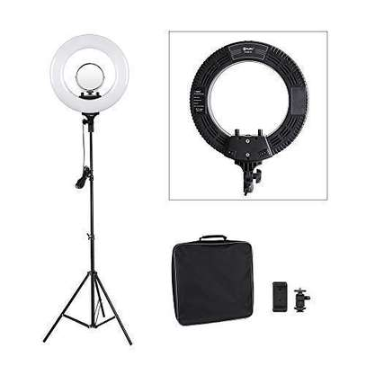 "Tolifo 14"" Bi Color LED Ring Light image 2"