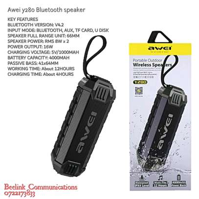Awei y280 Bluetooth speaker brand new image 1