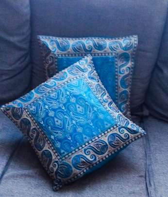 Indian silk cushion covers
