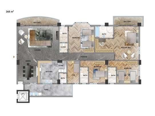 5 bedroom apartment for sale in Kileleshwa image 2