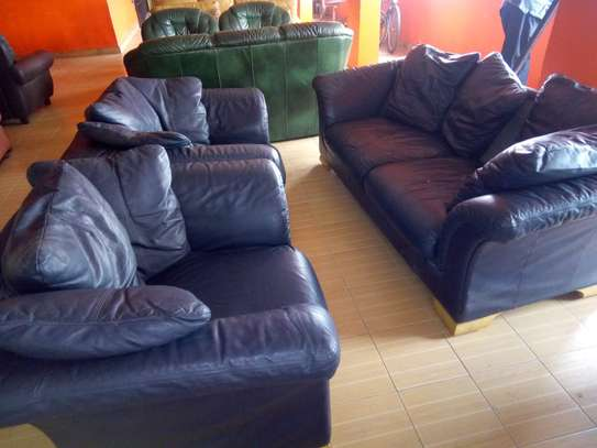 Leather Sofa (5 Seater) image 1