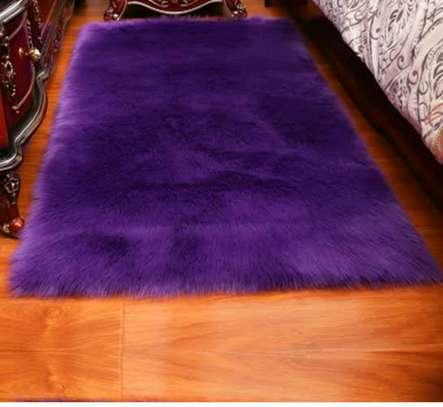 Fluffy Bedside Carpet image 1