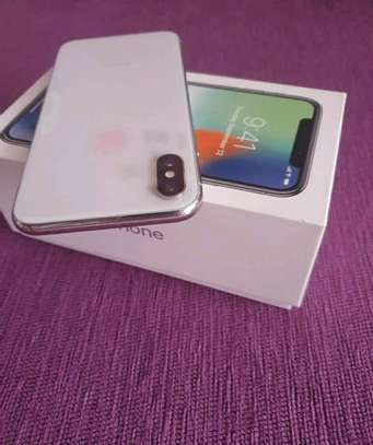 Apple Iphone x [ silver 256 Gigabytes ] image 3