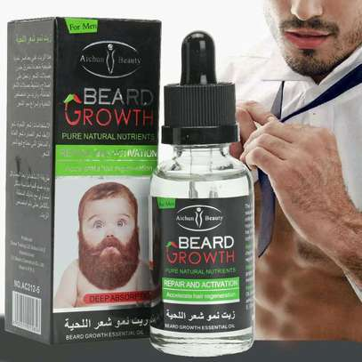 Aichun beard growth oil plus shampoo image 1