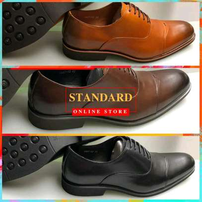 Men's Official Italian Leather Shoes with rubber sole image 20