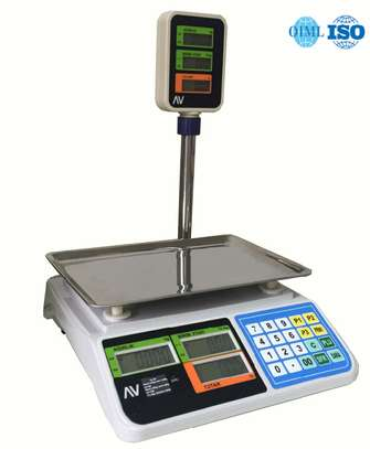 50kg Heavy Duty Accurate Weighing Scale Brand:Generic image 1