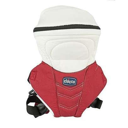 Chicco Red/White Chicco DESIGNER Baby Carrier (3.5 kg to 9 Kg) image 1
