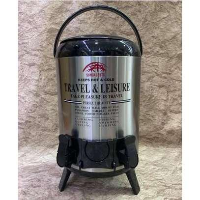 Sundabest Tea Urn 9.5L - Portable 2 Tap Hot/Cold Water/Coffee/Tea Urn image 1